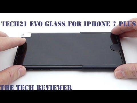 release date 68cbb e2547 Tech21 Evo Glass Screen Protector for iPhone 7 Plus: Outstanding ...