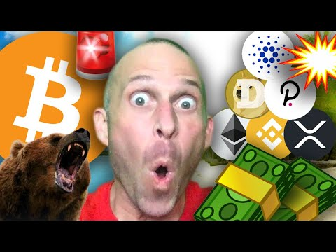 🚨BITCOIN BEARS WARNING!!!!! BEST LARGE CAP TO INVEST - ETHEREUM, CARDANO, DOGECOIN, XRP, POLKADOT..