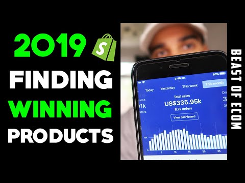 NEW Shopify Product Research Method 2019 | Find WINNING Products | Dropshipping thumbnail
