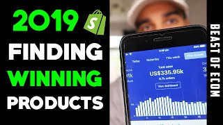 NEW Shopify Product Research Method 2019 | Find WINNING Products | Dropshipping