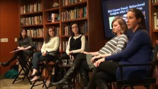 BIG Career Panel: Behavioral Insights After Graduation, Part 2