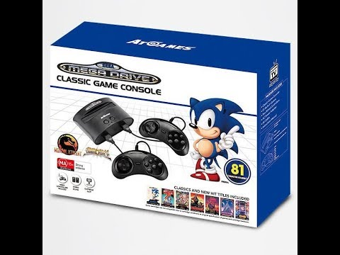 ATGames 81 In 1 SEGA Mega Drive Clone Console Review thumbnail