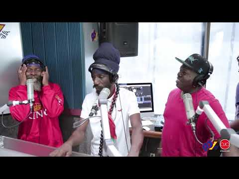 Sizzla Kalonji, Capleton And Barrington Levy Freestyle On The Upendo Riddim (Trinidad 2018 soca)