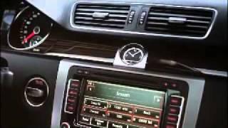 Новый Volkswagen CC 2012 Интерьер