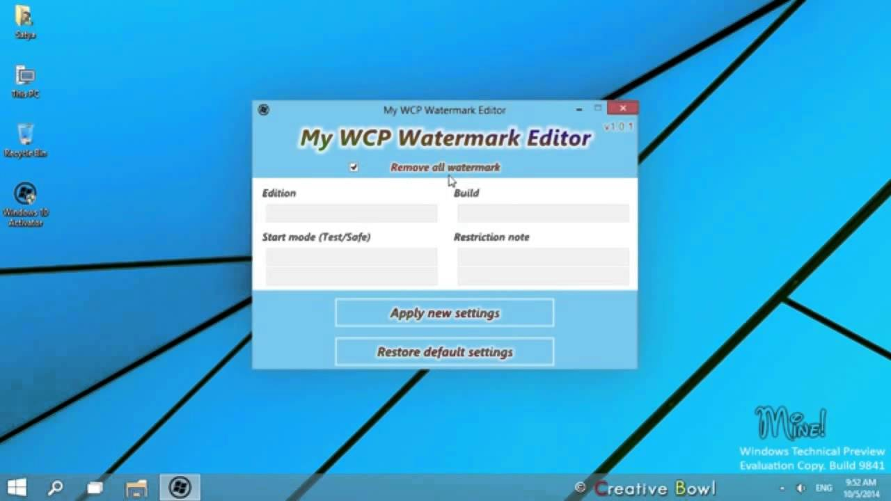 Windows 10 activation video by software rocker kk water mark windows 10 activation video by software rocker kk water mark remover ccuart Images