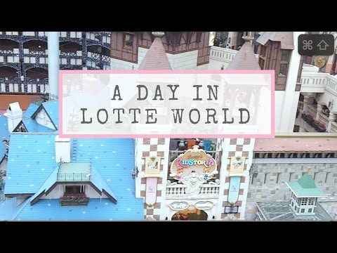 Korea Travelogue 2016 (Day 4): Lotte World