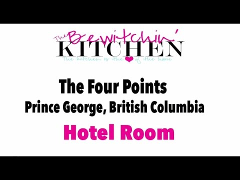Four Points Prince George, BC King Room Tour (Prince George, Canada Hotel Review)