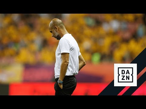 Pep Guardiola Reacts To Losing Asia Trophy On Penalties