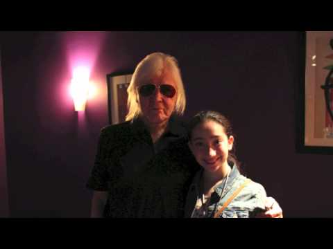 TANGERINE DREAM EDGAR FROESE NYC 2012 Interview with Pavlina