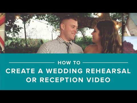 How to make a wedding slideshow with Animoto