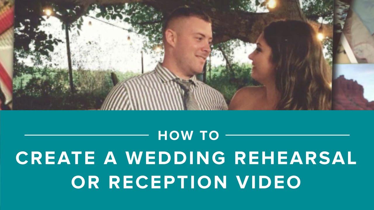how to make a wedding slideshow with animoto youtube