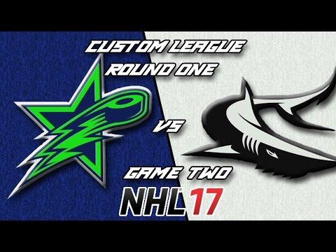 NHL 17 - Custom League Victoria @ Seattle - Round 1 Game 2