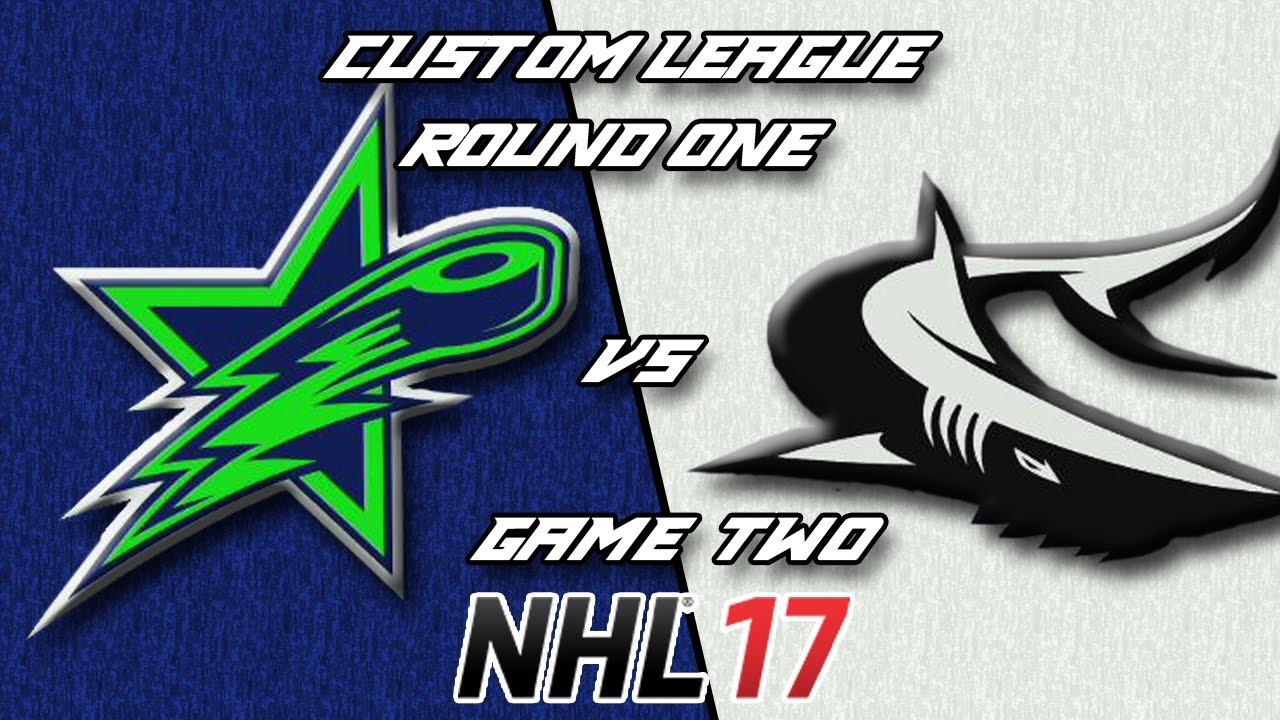 c60ec154f NHL 17 - Custom League Victoria   Seattle - Round 1 Game 2 - YouTube
