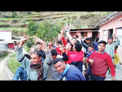 Latest Garhwali dhol damo dance 2018 || Pauri garhwal Uttarakhand