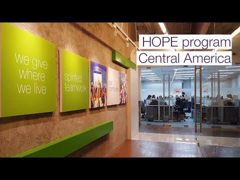 HOPE program - Central America