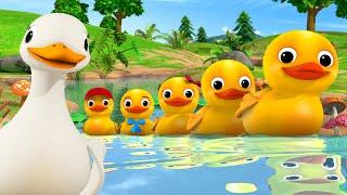 Little Baby Bum | 5 Little Ducks + More Nursery Rhymes KARAOKE | ABCs and 123s