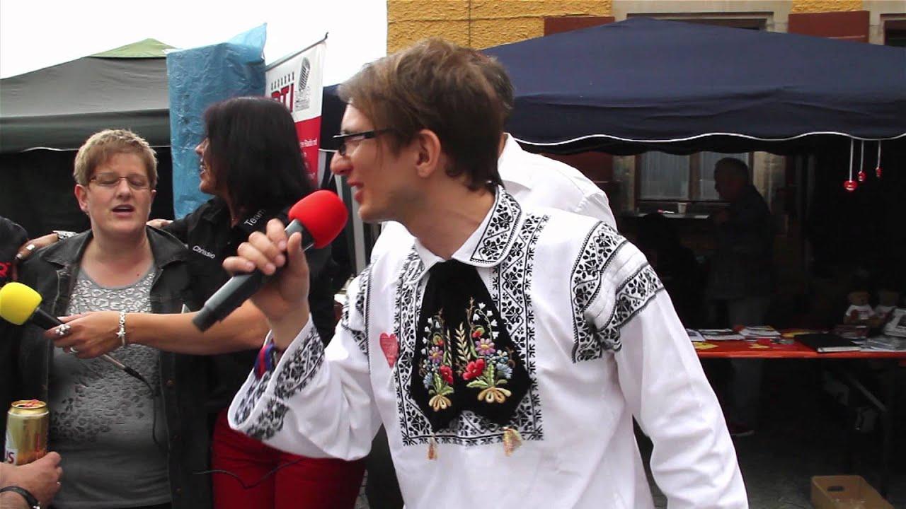 Rote Rosen Jurgen Aus Siebenburgen Live Am Rti Stand In Dkb 2012 Youtube