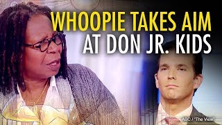 Martina Markota: Is Whoopi Goldberg Suggesting Don Jr's Son is Abusive?
