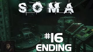"SOMA Walkthrough Gameplay Part 16 END ""We Did It.. Did We ? After Credits"" Playthrough 1080p60fps"