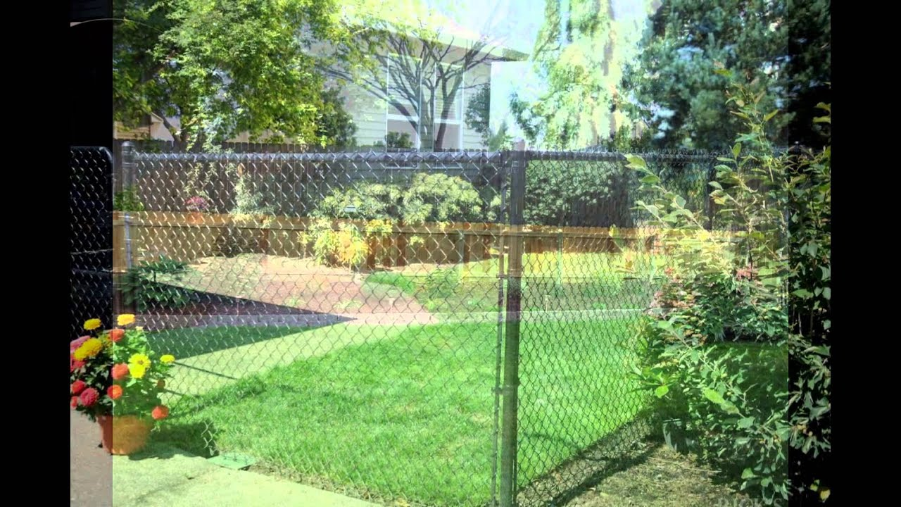 backyard fence cost youtube