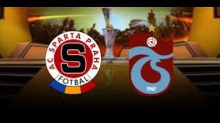 Sparta Prag vs Trabzonspor 2-2 UEFA Avrupa Ligi Maçı 08.08.2019 HARİKA GERİ DÖNÜŞ