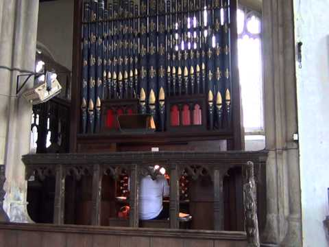 Rescue The Perishing - Bryceson Organ, Sedgebrook