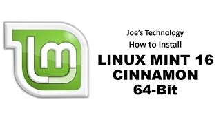 How to Make a Bootable USB Thumbdrive with Linux Mint 16 And Install It