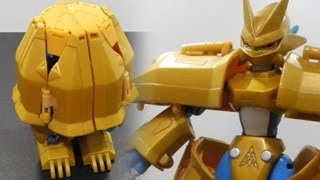 Digimonデジモンtoy-Warp Digivolving Digi-Egg of Miracles奇跡のデジメンタル to Magnamonマグナモン-review[720p]