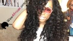 Virgin Peruvian Hair Milan Curl with Silk Top Closure! Review (Wowafrican.com)