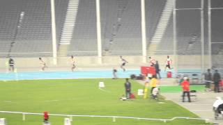 2014 Asia paralympic T42-47 100x4 Final