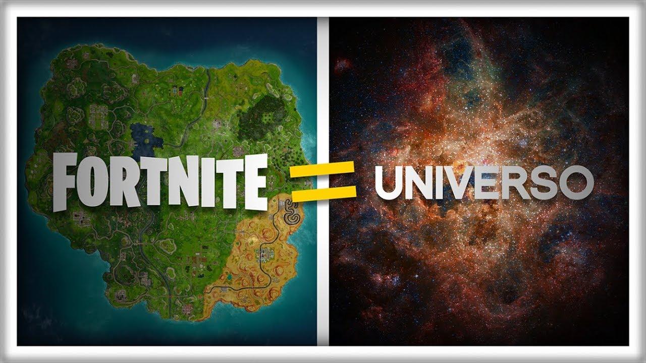 Si el Universo fuera del Tamaño del FORTNITE