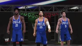 Wwe 2k17 - sixers feat hinkie