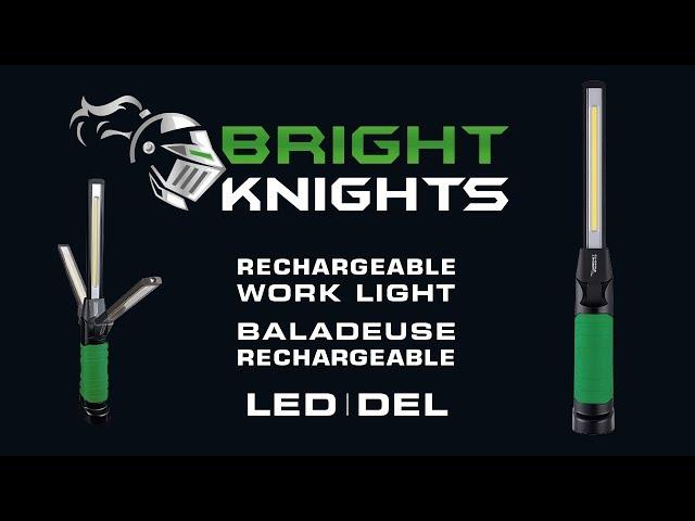💡🔦 BRIGHT KNIGHTS - Présentation de la nouvelle baladeuse rechargeable à DEL