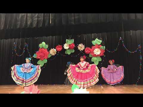 Folklorico Christmas Dance Student of LOS NINOS ELEMENTARY SCHOOL SUNNYSIDE DISTRICT TUCSON AZ 2018