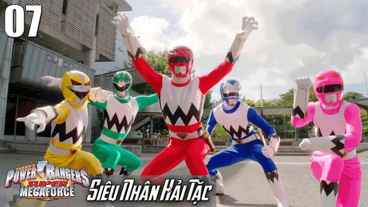 Phim Siêu Nhân Hải Tặc (Super Megaforce) Tập 7: Tinh Thú Tiến Lên