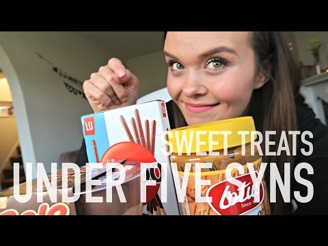 SWEET TREATS UNDER FIVE SYNS - SLIMMING WORLD FOOD IDEAS 😋 | Charlotte Taylor