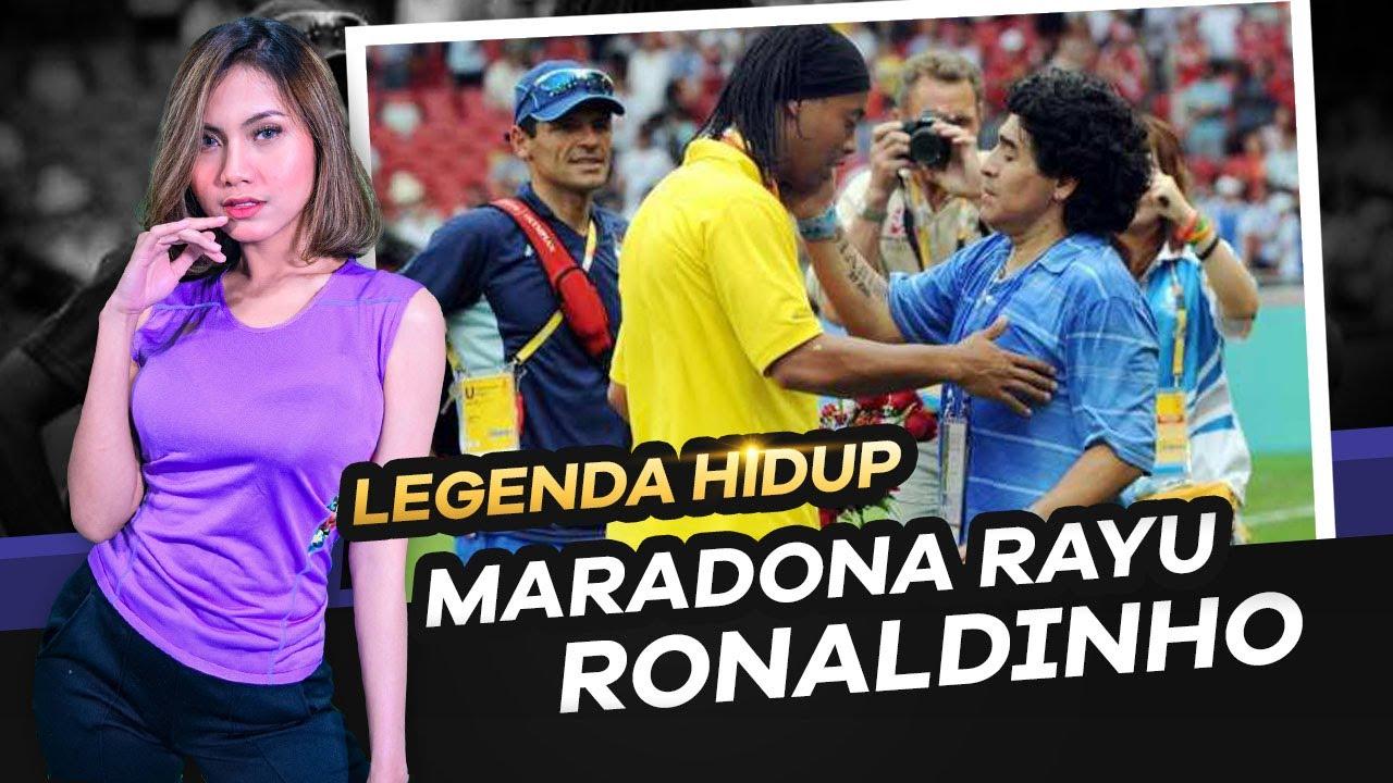 Maradona Ajak Ronaldinho Bermain Kembali 😎 Cerita manis Timo Werner 😍 Robben Kembali Dari Pensiun