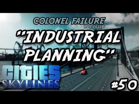 Cities Skylines #50 : Industrial Transport Planning