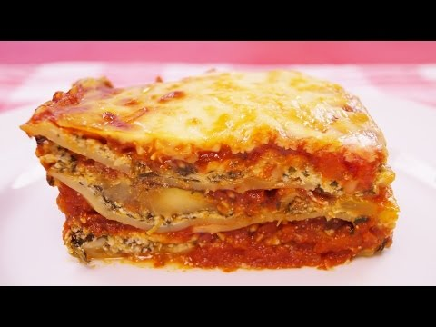How to make vegetarian vegetable lasagna at home