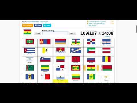 World Flags Quiz | Sporcle