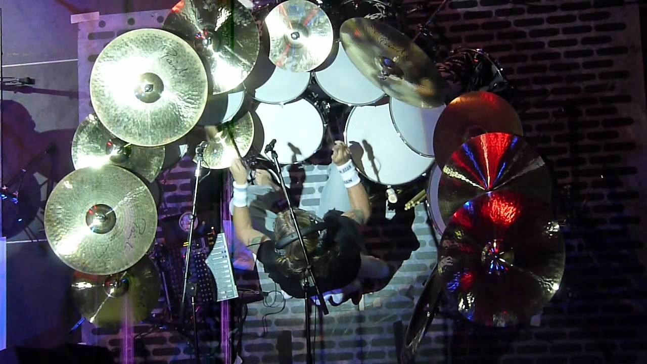 nicko mcbrain iron maiden drummer workshop live bei