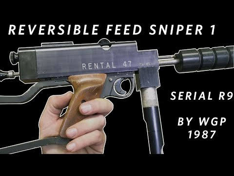 Worr Game Products Reversible Feed Sniper 1   C. 1987