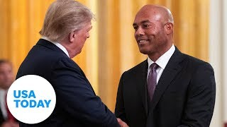President Trump issues Medal of Freedom to Mariano Rivera   USA TODAY