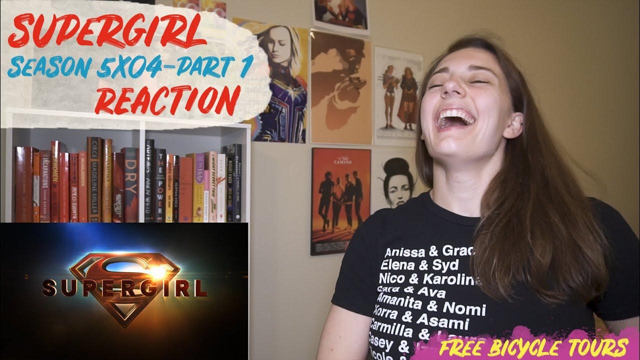 "Download Supergirl Season 5 Episode 4 ""In Plain Sight"" REACTION Part 1"