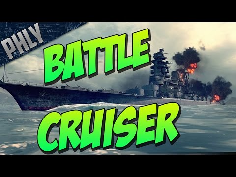 BATTLE CRUISER Line In World Of Warships?