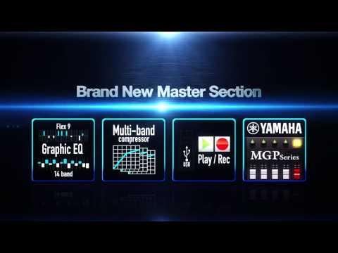 Yamaha MGP Series Mixing Consoles