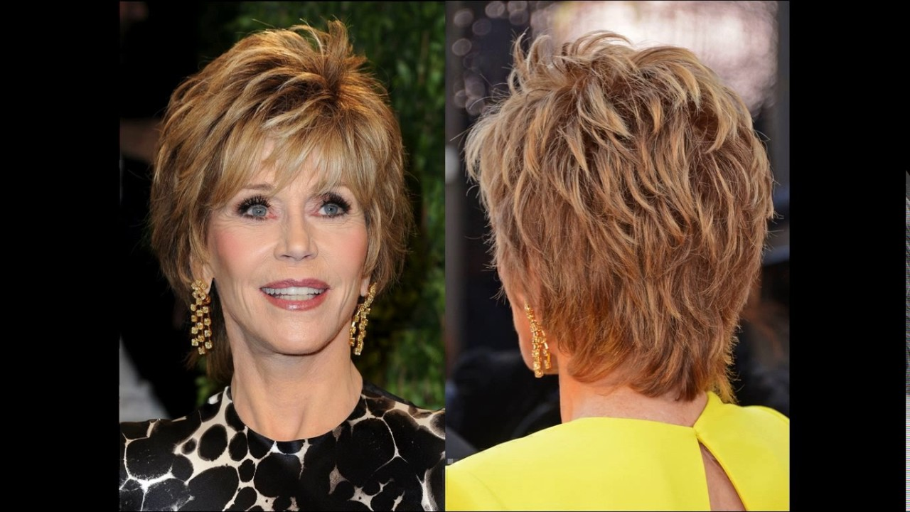 Short Haircuts For Women Front And Back View Youtube