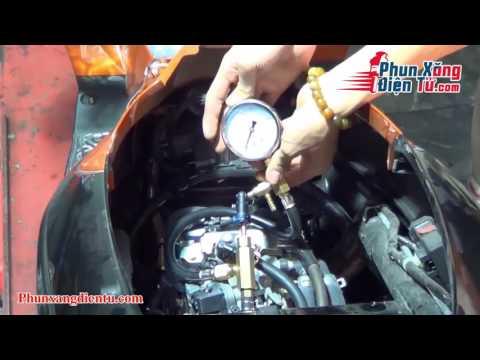 Hướng Dẫn Sử Dụng đồng Hồ đo áp Suất Bơm Xăng Xe Máy FI