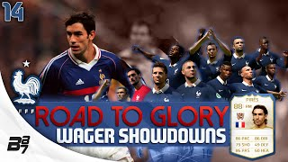 ROAD TO GLORY WAGER MATCHES FRANCE | LEGEND PIRES! #14 | FIFA 14 UT
