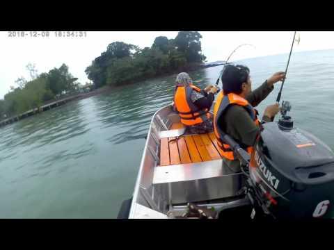 Tangkap ketam dan mancing di Port Dickson pt. 2